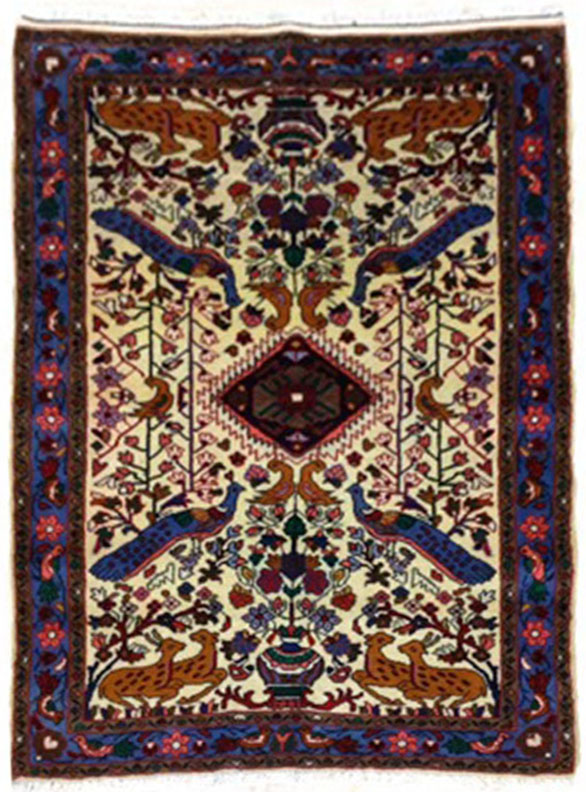 Afshar carpet 4.8x3.4